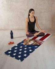 CAT FLAG Yoga Mat 70x24 (horizontal) aos-yoga-mat-lifestyle-18