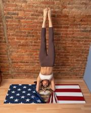 CAT FLAG Yoga Mat 70x24 (horizontal) aos-yoga-mat-lifestyle-20