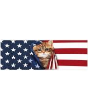 CAT FLAG Yoga Mat 70x24 (horizontal) front
