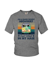 ON A DARK DESERT HIGHWAY COOL WIND IN MY HAIR Youth T-Shirt thumbnail