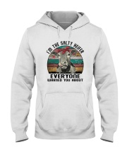 I'M THE SALTY HEIFER EVERYONE WARNED YOU ABOUT Hooded Sweatshirt tile