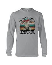 I'M THE SALTY HEIFER EVERYONE WARNED YOU ABOUT Long Sleeve Tee thumbnail