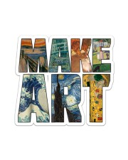 MAKE ART Sticker - Single (Vertical) front