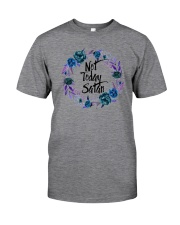 NOT TODAY SATAN Classic T-Shirt thumbnail