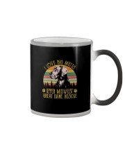 I LOVE BIG MUTTS UPPER MIDWEST GREAT DANE RESCUE Color Changing Mug thumbnail