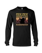PEW PEW CAT Long Sleeve Tee thumbnail