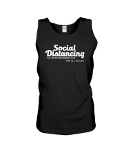 SOCIAL DISTANCING FOR THIS ALL MY LIFE Unisex Tank thumbnail