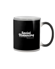SOCIAL DISTANCING FOR THIS ALL MY LIFE Color Changing Mug thumbnail