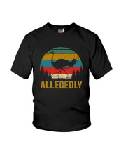 ALLEGEDLY Youth T-Shirt thumbnail