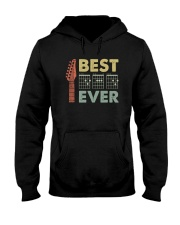 BEST MUSIC GUITAR DAD EVER Hooded Sweatshirt thumbnail