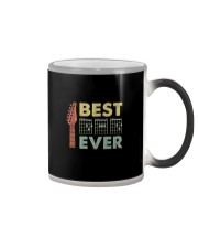 BEST MUSIC GUITAR DAD EVER Color Changing Mug thumbnail