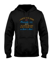 THE WICKED RUN WHEN NO ONE IS CHASING THEM Hooded Sweatshirt thumbnail