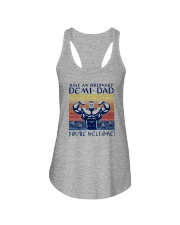 JUST AN ORDINARY DEMI-DAD Ladies Flowy Tank tile