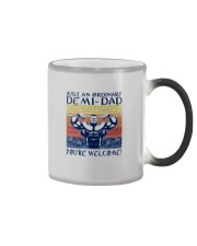 JUST AN ORDINARY DEMI-DAD Color Changing Mug tile
