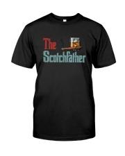 THE SCOTCHFATHER VINTAGE Classic T-Shirt front