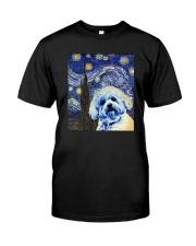 VAN GOGH BICHON FRISE Classic T-Shirt front