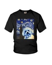 VAN GOGH BICHON FRISE Youth T-Shirt thumbnail