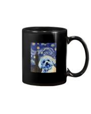 VAN GOGH BICHON FRISE Mug thumbnail