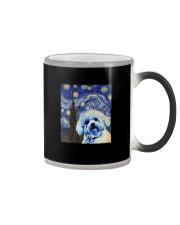 VAN GOGH BICHON FRISE Color Changing Mug thumbnail