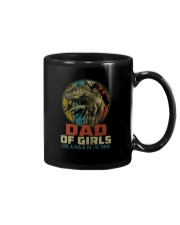 DAD OF GIRLS T REX Mug thumbnail