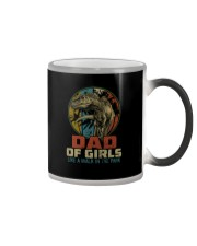 DAD OF GIRLS T REX Color Changing Mug thumbnail