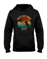 BEST CAT MOM EVER Hooded Sweatshirt thumbnail