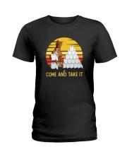 COME AND TAKE  IT PITBULL Ladies T-Shirt thumbnail