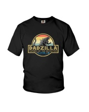 FATHER OF MONSTERS DADZILLA Youth T-Shirt thumbnail