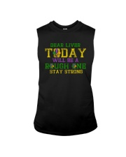 TODAY WILL BE A ROUGH ONE STAY STRONG Sleeveless Tee thumbnail