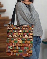 BOOKS All-over Tote aos-all-over-tote-lifestyle-front-09