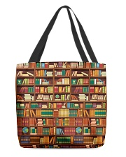 BOOKS All-over Tote front