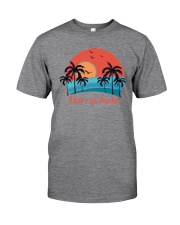 WHAT'S UP BEACHES Classic T-Shirt front