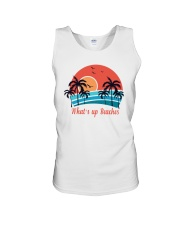 WHAT'S UP BEACHES Unisex Tank thumbnail