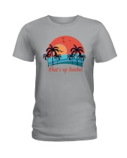 WHAT'S UP BEACHES Ladies T-Shirt thumbnail