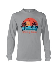 WHAT'S UP BEACHES Long Sleeve Tee thumbnail