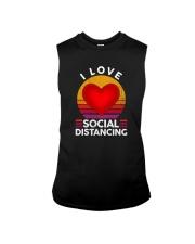 I LOVE SOCIAL DISTANCING 2 Sleeveless Tee thumbnail