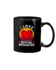 I LOVE SOCIAL DISTANCING 2 Mug thumbnail