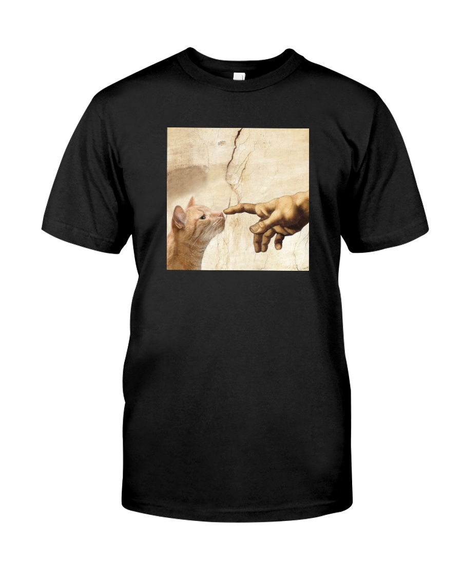 THE CREATION OF ADAM BROWN CAT Classic T-Shirt