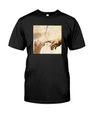 THE CREATION OF ADAM BROWN CAT Classic T-Shirt front