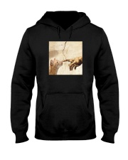 THE CREATION OF ADAM BROWN CAT Hooded Sweatshirt tile
