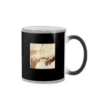 THE CREATION OF ADAM BROWN CAT Color Changing Mug tile