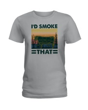 I'D SMOKE THAT Ladies T-Shirt thumbnail