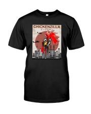 CHICKENZILLA Classic T-Shirt front