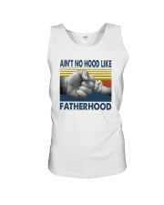 AIN'T NO HOOD LIKE FATHERHOOD Unisex Tank thumbnail
