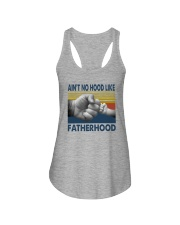 AIN'T NO HOOD LIKE FATHERHOOD Ladies Flowy Tank thumbnail