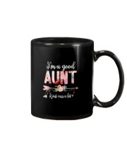 I'M A GOOD AUNT Mug thumbnail