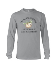 LAZY IS VERY STRONG WORD Long Sleeve Tee thumbnail