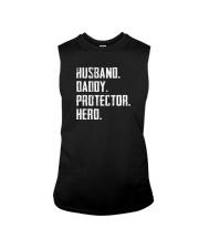HUSBAND DADDY PROTECTOR HERO Sleeveless Tee thumbnail