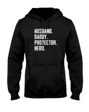 HUSBAND DADDY PROTECTOR HERO Hooded Sweatshirt thumbnail