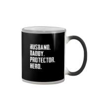 HUSBAND DADDY PROTECTOR HERO Color Changing Mug thumbnail